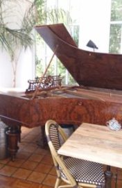 Grand Piano, Tasmanian Food and Wine Conservatory
