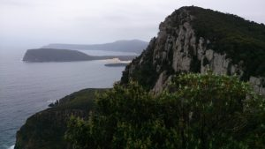 View of Cape Raoul and Mount Brown