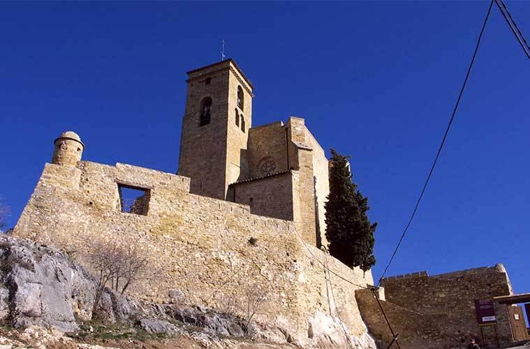 Castillo-Palacio de los Condes de Ribagorza. La Ribagorza, un destino único. / Foto: José Luis Filpo Cabana (Wikimedia Commons)
