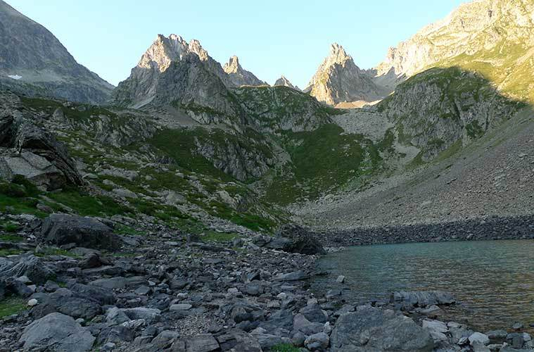 Grand Barbat desde Lac de Barbat / Foto: Romain Lefort (Flickr)