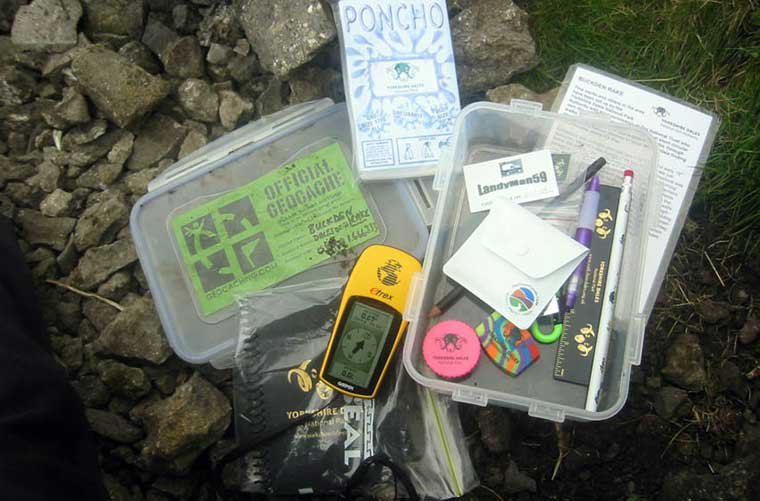 Geocache / Foto: Michalowic (Wikimedia commons)