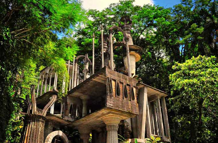 Senderismo paisajístico. Jardín Surrealista de Xilitla / Foto: Rod Waddington [CC BY-SA 2.0], via Wikimedia Commons