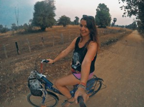Exploring the islands by bike