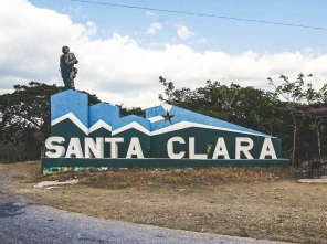 Santa Clara city sign