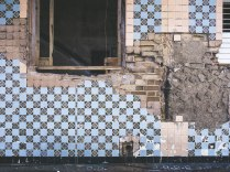 Beautiful crumbling walls