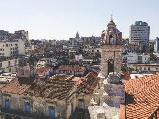 View from Catedral de La Habana