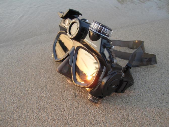 Liquid Image Scuba Series HD324 Underwater Digital Camera Video Mask