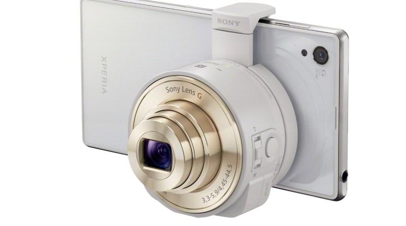 Sony CyberShot DSC-QX10 smartphone lens