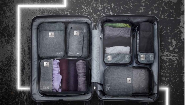 Vasco travel packing cubes set