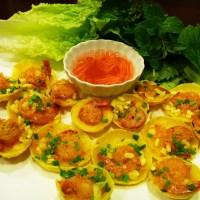 Banh Khot - Savory Shrimp pancakes