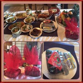 Tet festive dishes