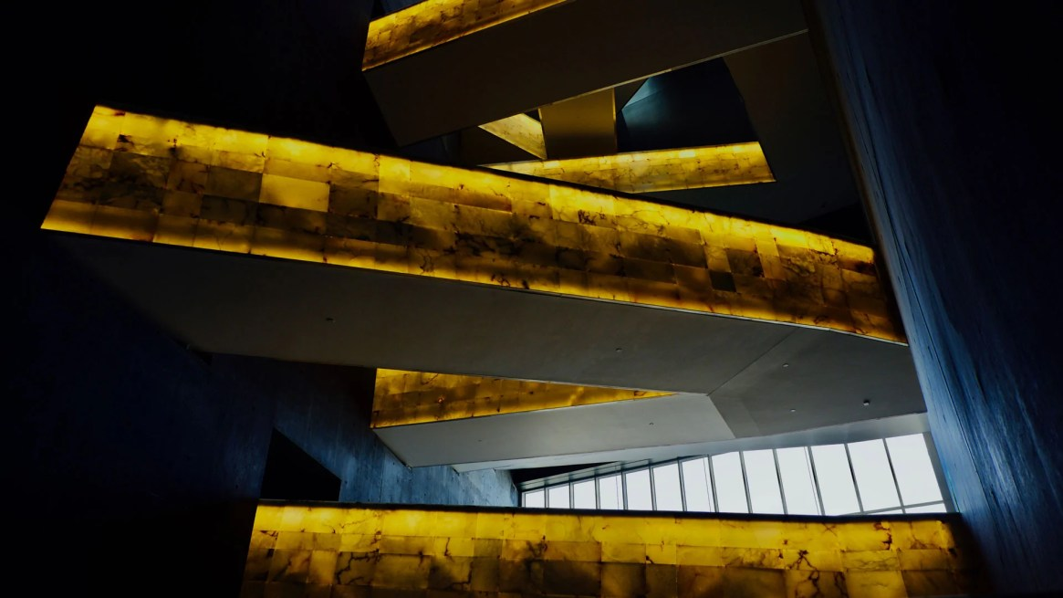 The golden path - Canadian Museum for Human Rights