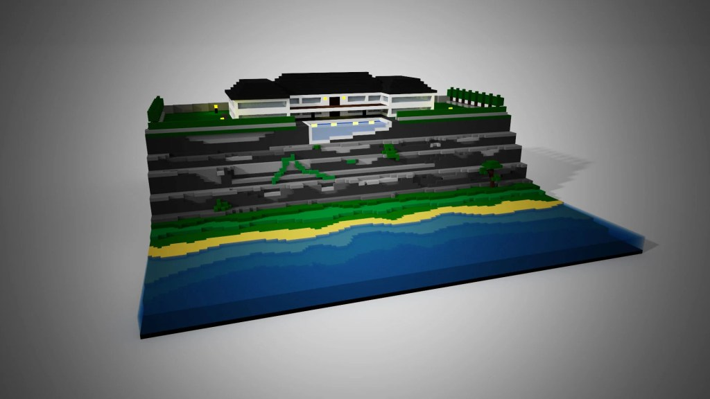 Voxel - Coastline House