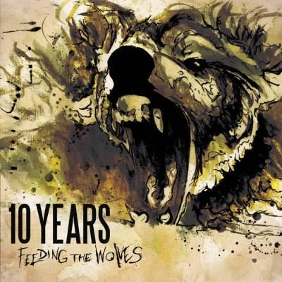 10 Years 'Feeding the Wolves' Album Cover