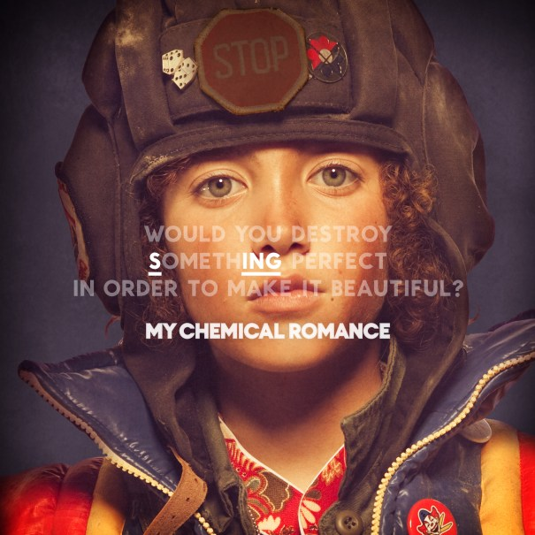 """My Chemical Romance Artwork For """"SING"""""""