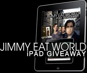 WIN – iPad From Jimmy Eat World