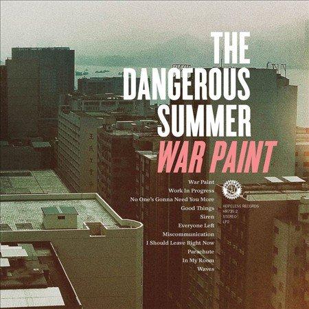 The Dangerous Summer  'War Paint' Cover Artwork