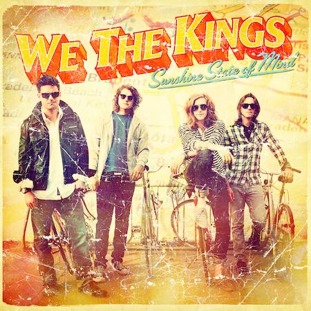We The Kings 'Sunshine State Of Mind' Album Artwork