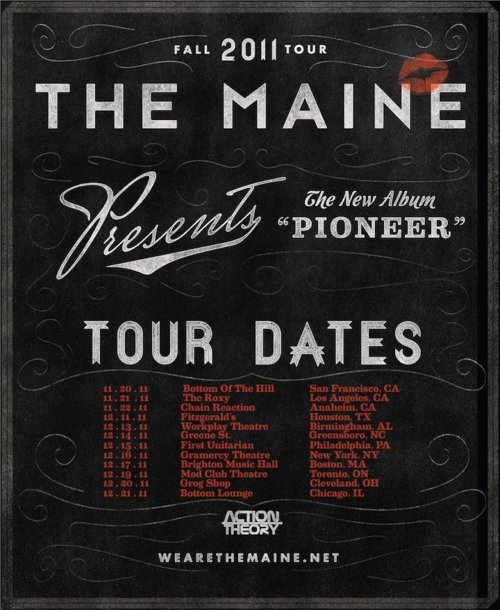 The Maine Announce Fall Headlining Tour