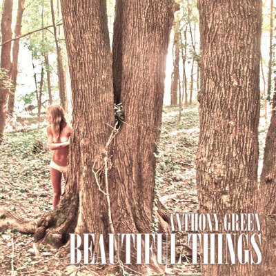 Anthony Green solo album 'Beautiful Things' cover art