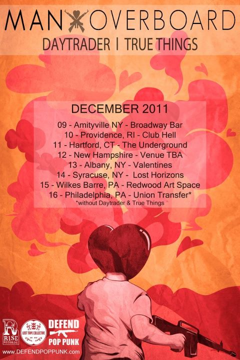 Man Overboard Announce December Tour Dates