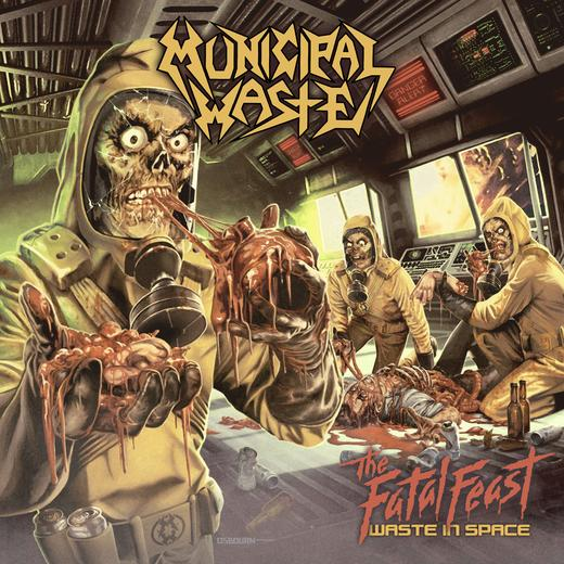 Municipal Waste 'The Fatal Feast' Album Cover Artwork