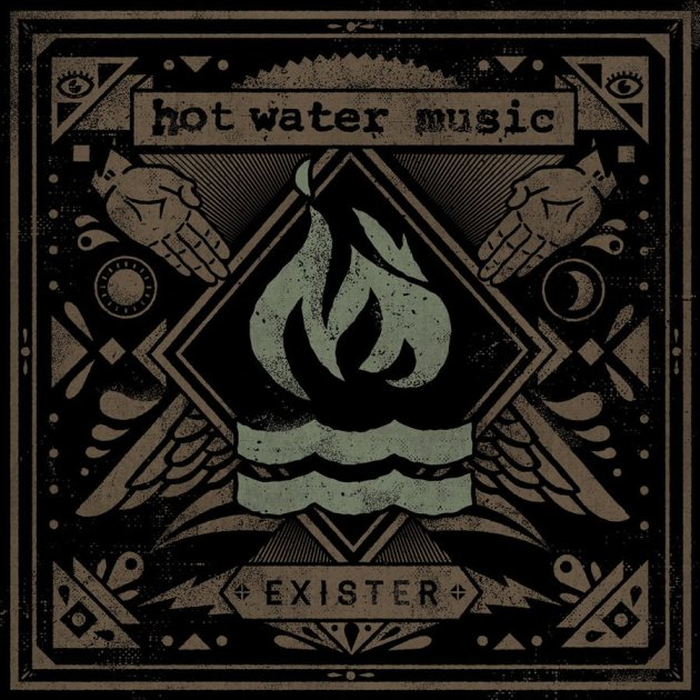Hot Water Music 'Exister' Cover Art