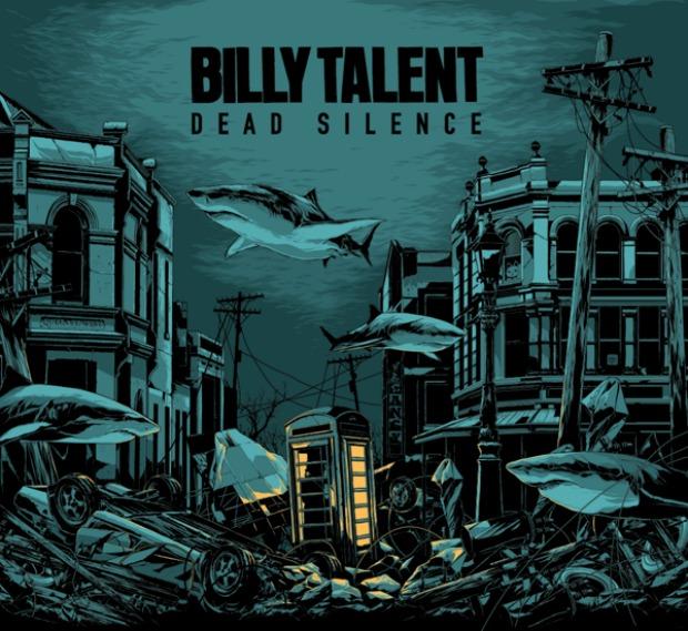 Billy Talent 'Dead Silence' Album Cover Artowrk