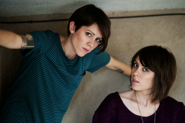 "New Song - Tegan And Sara ""I'm Not Your Hero"""