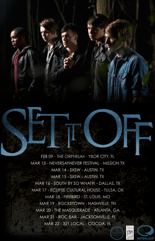 Set It Off Announce March Headlining Tour
