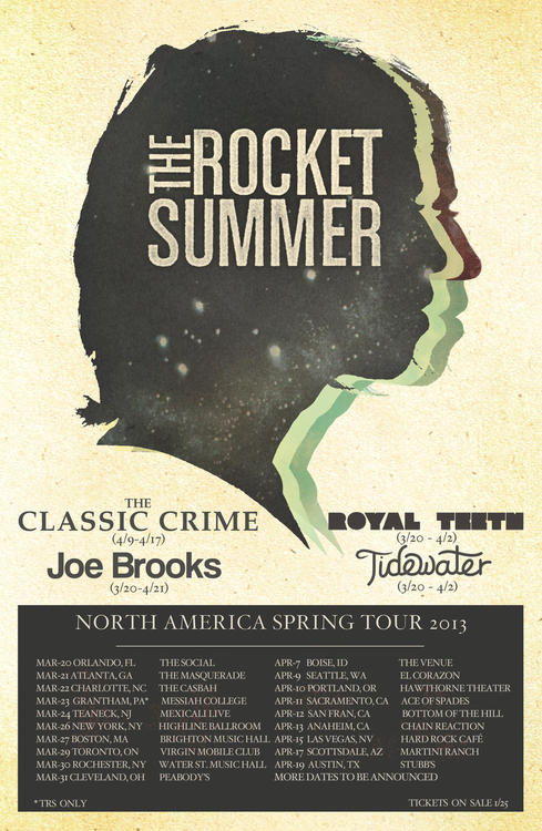 The Rocket Summer Announce Spring Tour