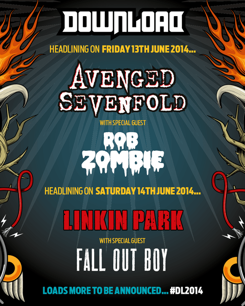 Download Festival Announce First Headliners