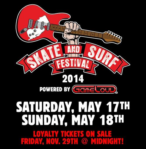 Skate And Surf Festival Announces 2014 Dates