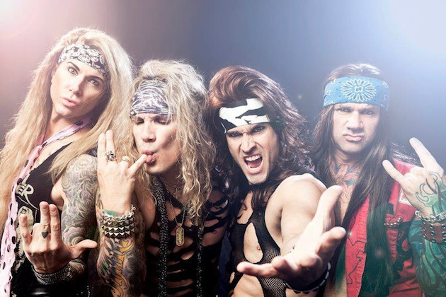 "Steel Panther Release ""Wasted Too Much Time"" Video Featuring Stone Sour Appearance"