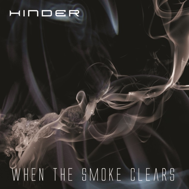 Hinder Unveil When the Smoke Clears Album Art