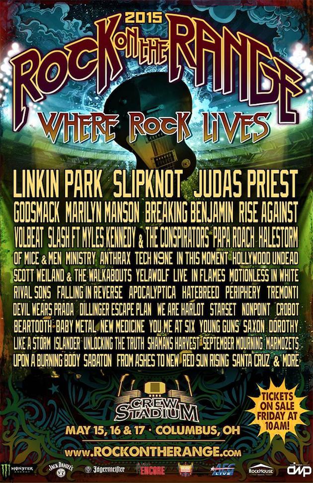 Rock On The Range Festival