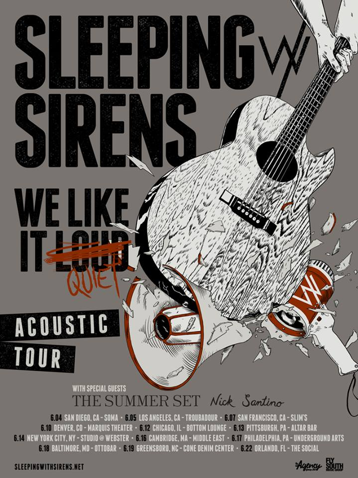 Sleeping With Sirens Announce Acoustic Tour