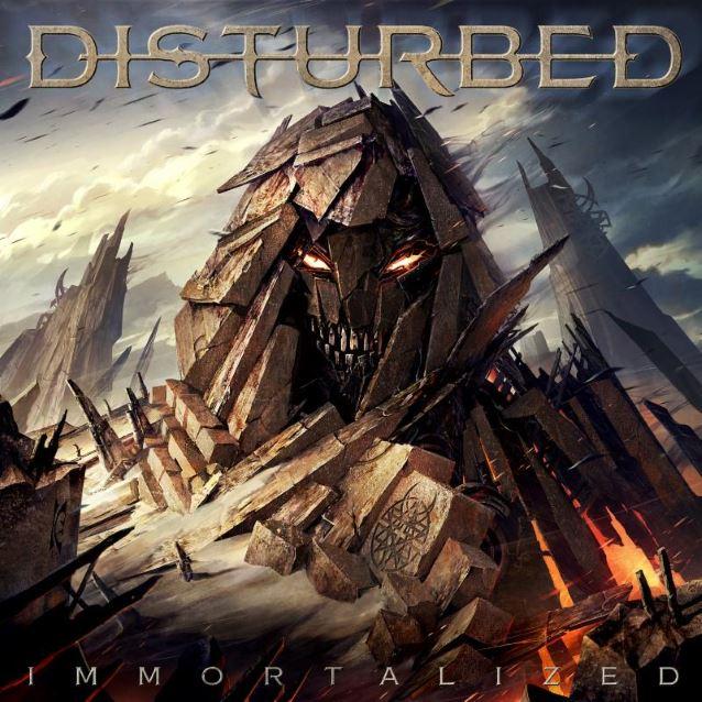Disturbed 'Immortalized' Album Cover Artwork