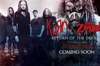 Korn, Rob Zombie Announce Co-Headlining 2016 Summer Tour Dates