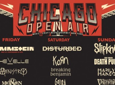 Rammstein, Disturbed, Slipknot To Headline Chicago Open Air Fest 2016