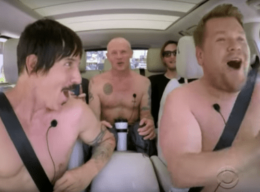 Watch Red Hot Chili Peppers Carpool Karaoke with James Corden