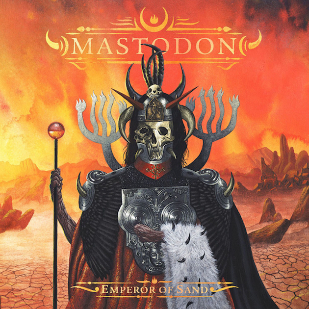 Mastodon Emperor of Sand album artwork