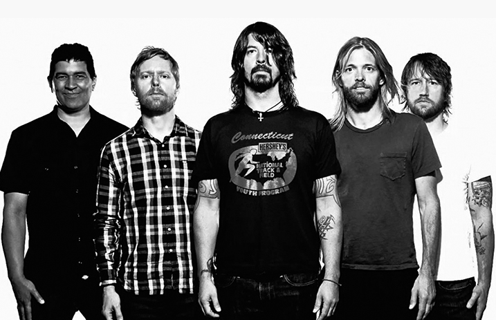 Foo Fighters Add New Dates To 'Concrete And Gold' Tour