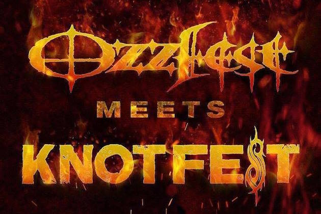 "Ozzy Osbourne, Rob Zombie, Marilyn Manson, More To Play ""Ozzfest Meets Knotfest"""