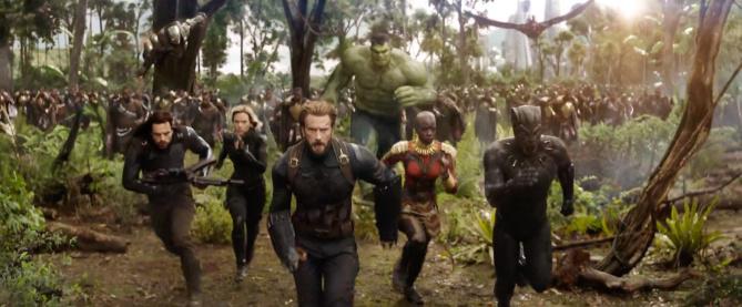 Watch 'Avengers: Infinity War' Movie Trailer
