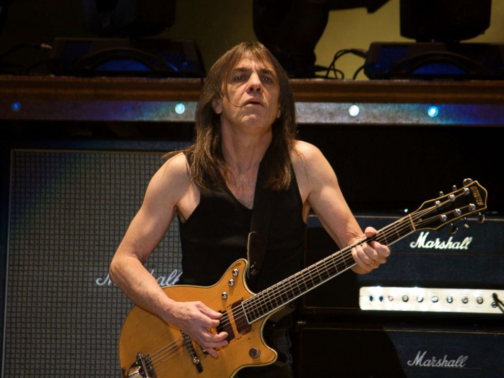 AC/DC Guitarist Malcolm Young Dead At 64