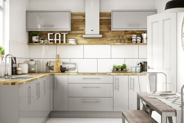 White Gloss 500mm Kitchen Doors