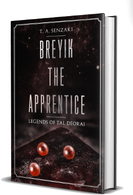 Breyik the Apprentice Cover T. A. Senzaki Travis Senzaki