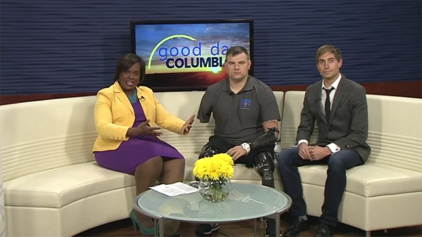 "SSG Travis Mills on ""Good Day Columbia!"" - Travis: A ..."