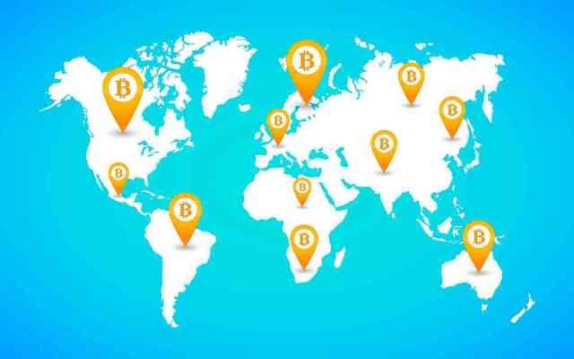 jaringan bitcoin di seluruh dunia 750x469 - 8 Hal tentang Bitcoin, Mata Uang Digital Seharga 1 Ons Emas